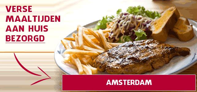 maaltijd aan huis in Amsterdam