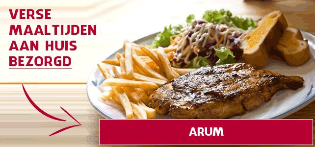 maaltijd aan huis in Arum